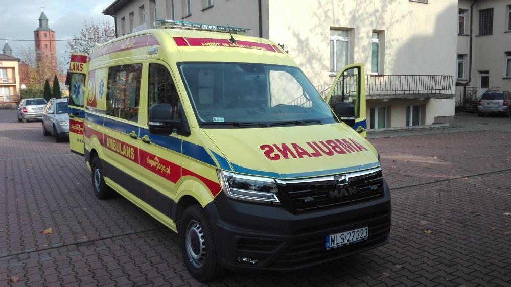 Oglądasz obrazy z artykułu: Ambulansu  typu ,,C''