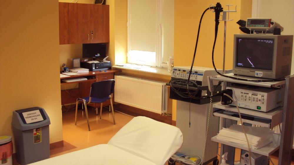 Oglądasz obrazy z artykułu: Pracownia endoskopii