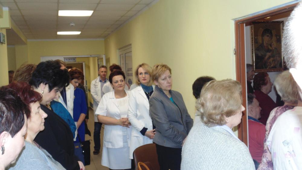Oglądasz obrazy z artykułu: Światowy Dzień Chorego w Samodzielnym Publicznym Zakładzie Opieki Zdrowotnej w Łosicach