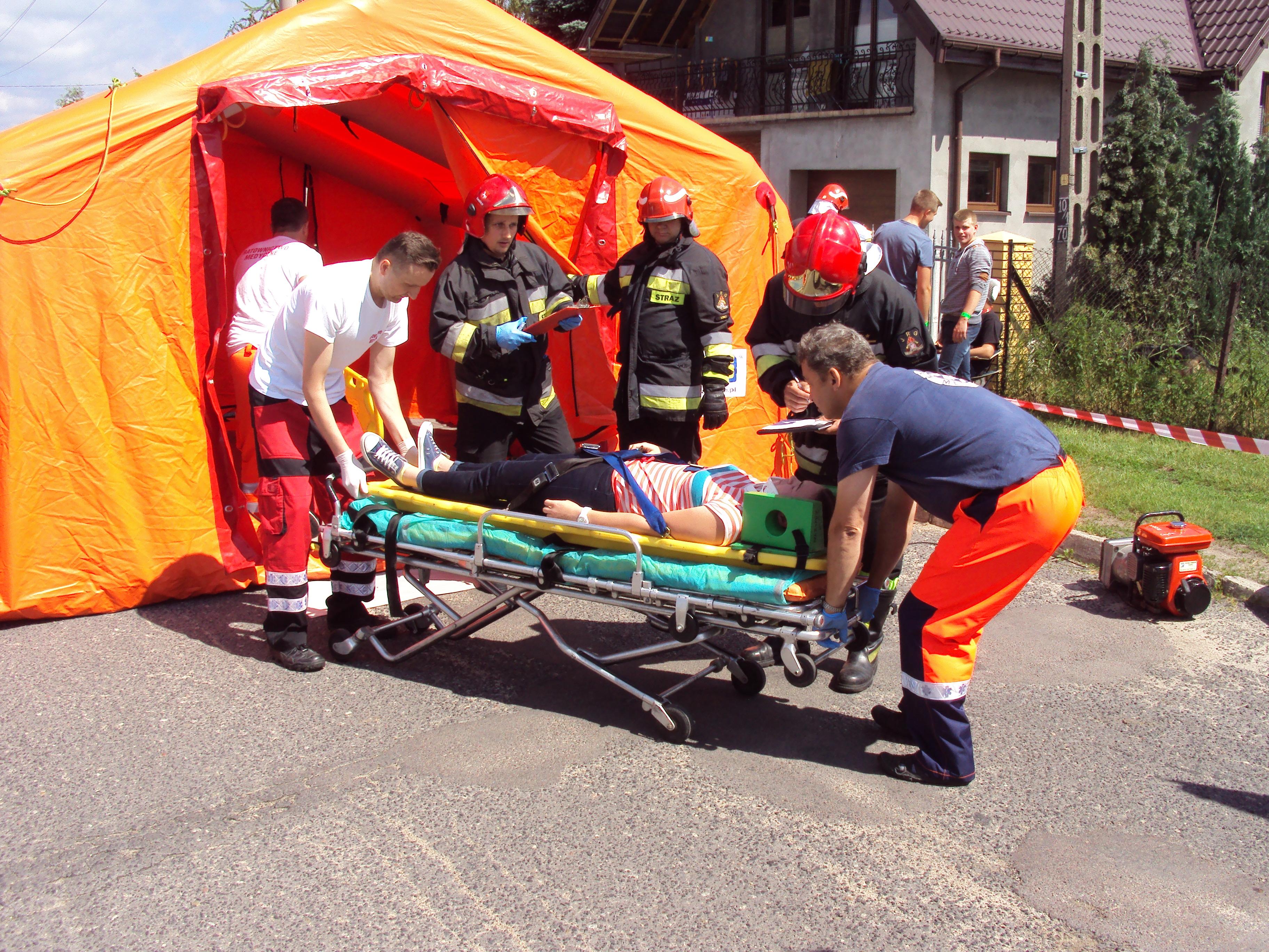 Oglądasz obrazy z artykułu: Ewakuacja szpitala pod kryptonimem TOCZNA 2016