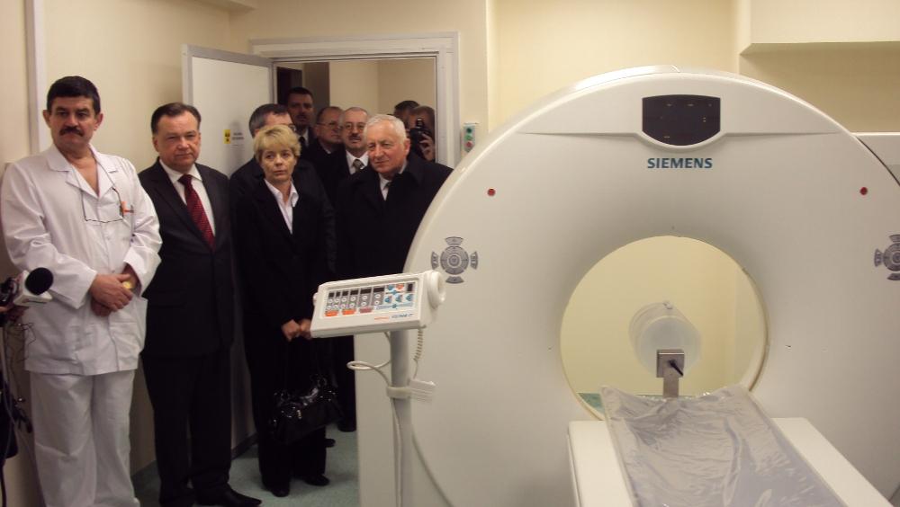 Oglądasz obrazy z artykułu: Otwarcie Pracowni Tomografii Komputerowej