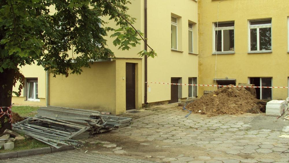 Oglądasz obrazy z artykułu: Prace budowlane - modernizacja Szpitala